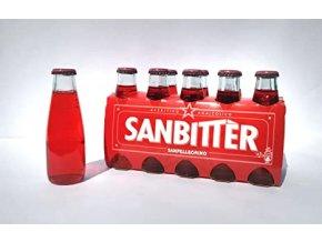 SANBITTER , APERITIV BEZ ALKOHOLU,1 láhev 100ml, cena za 1 ks