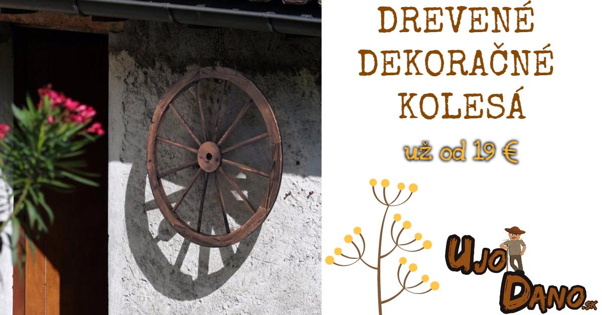 Drevené kolesá už od 19 €