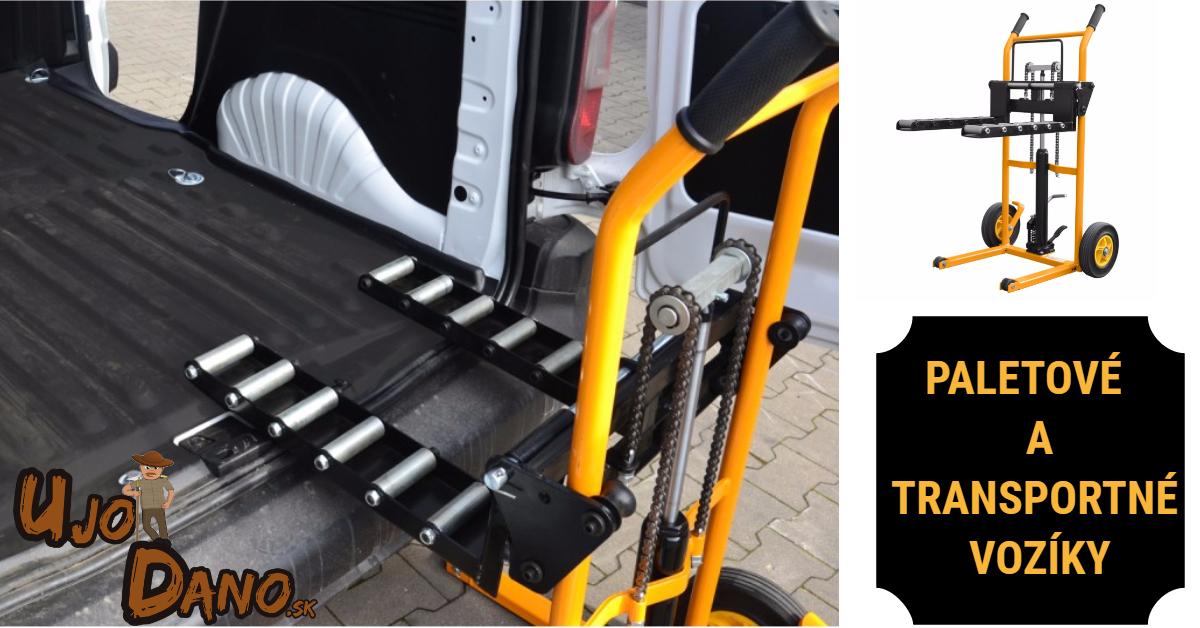 Paletové vozíky a transportné vozíky