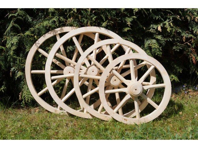 Drevené dekoračné koleso 40cm
