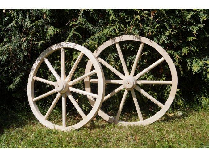 Drevené dekoračné koleso 70cm
