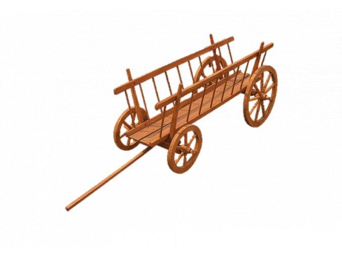 Drevený voz Rebriňák ujo dano