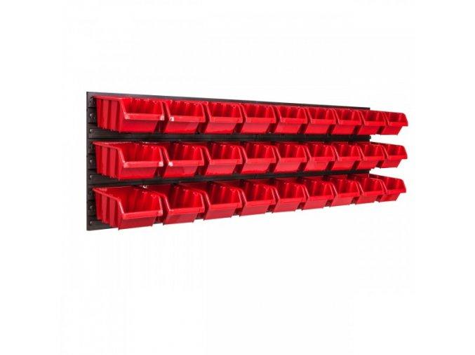 Nástenný organizér na náradie 1152 x 390 mm + 27 boxov ujodano (2)