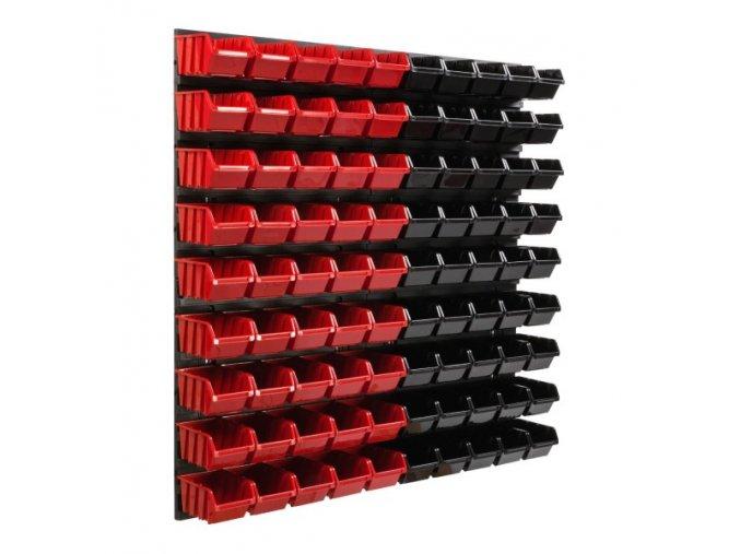 Nástenný organizér na náradie 772 x 780 mm + 90 boxov ujodano (2)