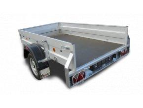 Prívesný vozík Pongratz LPA 230/12 U/STK