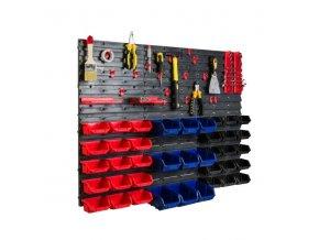 Nástenný organizér na náradie 1050 x 770 mm + 39 boxov ujodano (15)