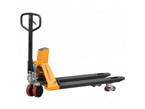 Paletový vozík s elektrickou váhou 2 tony ujodano (4)