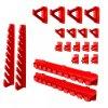 Nástenný organizér na náradie 576 x 780 mm s úchytmi + 15 boxov ujodano (7)
