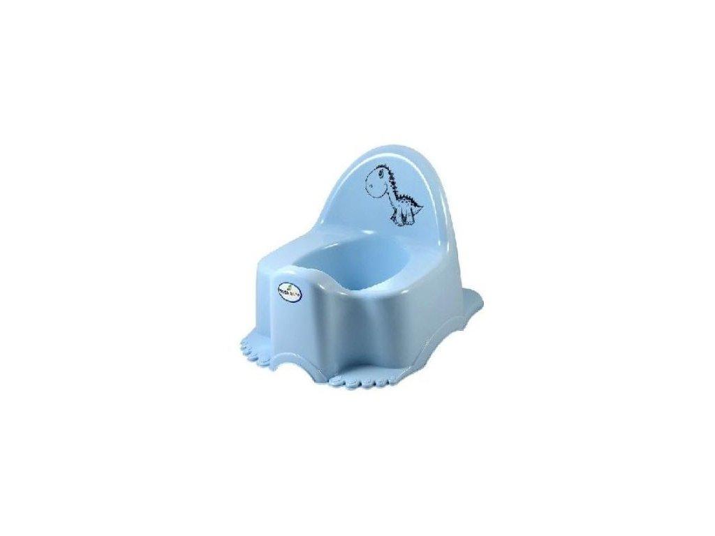 Dětský nočník Tega Dinosaurus modrá hrací