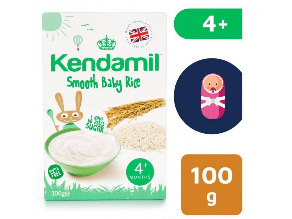 Kendamil Jemná dětská rýžová kaše (100g)