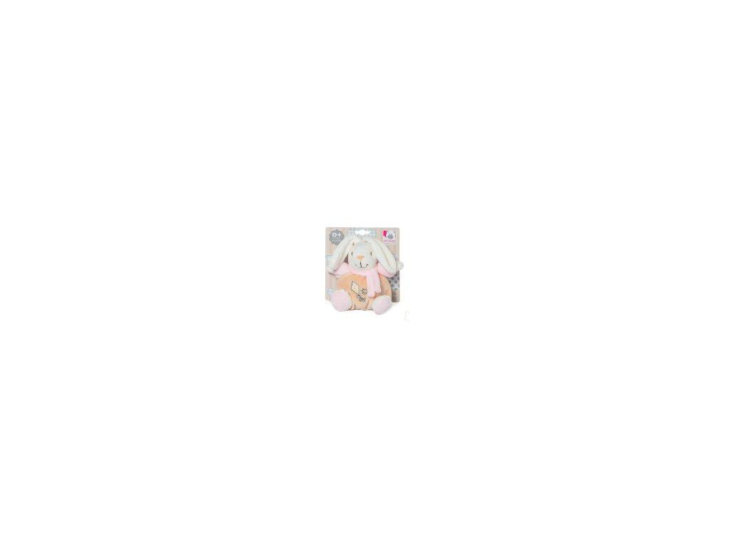 Chrastítko zajíc růžový 2034