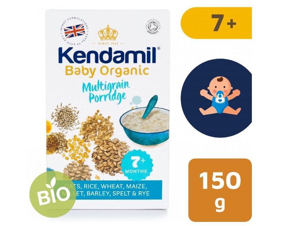 Kendamil BIO Organická dětská vícezrnná kaše (150 g)