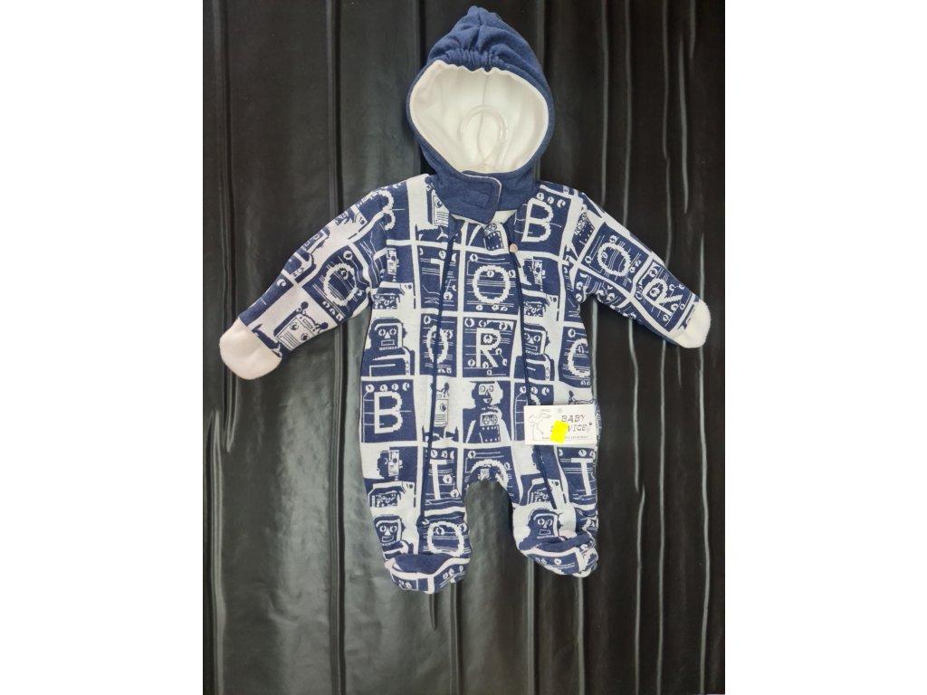 Zimní overal Baby Service modrý vel.62