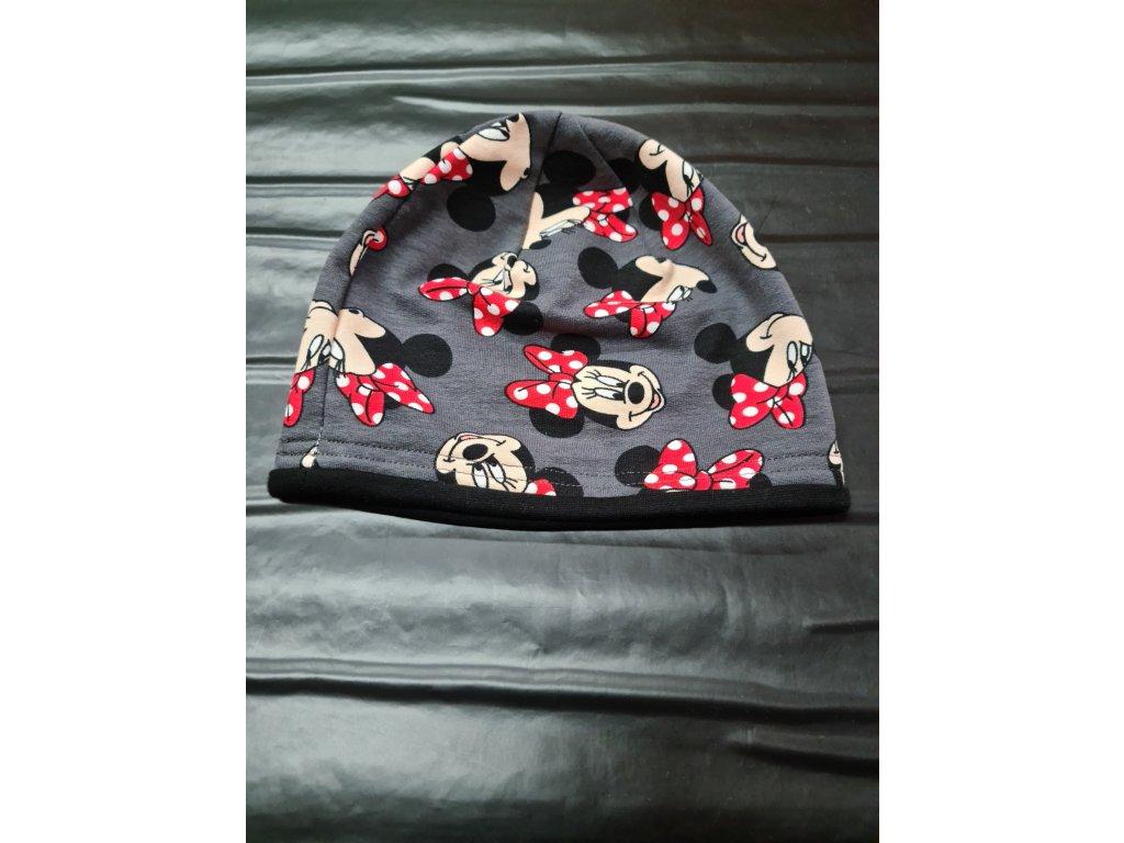 Bavlněná čepice Yetty 46-48