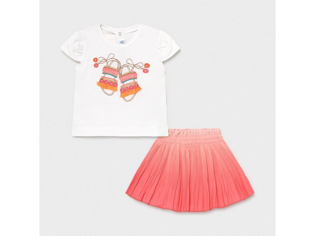 Dětská souprava - tričko a sukýňka Mayoral