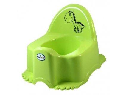 Dětský nočník Tega Dinosaurus zelená hrací