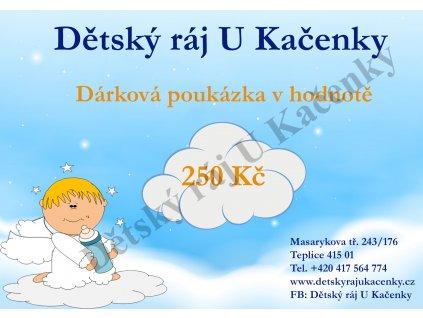 DÁRKOVÁ POUKÁZKA