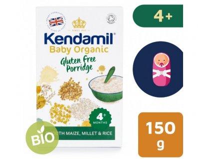 Kendamil BIO Organická dětská bezlepková kaše (150 g)