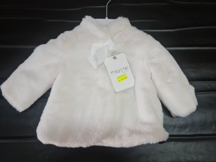Kabátek Mayoral bílý vel.60