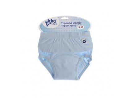 treninkove kalhotky xkko organic baby blue c05