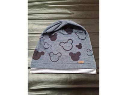 Bavlněná čepice AJS Mickey mouse 44-46