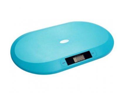 Váha elektronická pro děti do 20 kg modrá