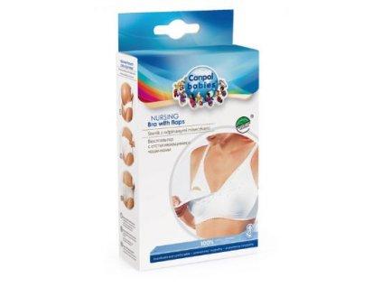 Canpol babies- Podprsenka pro těhotné a kojící ženy  bílá