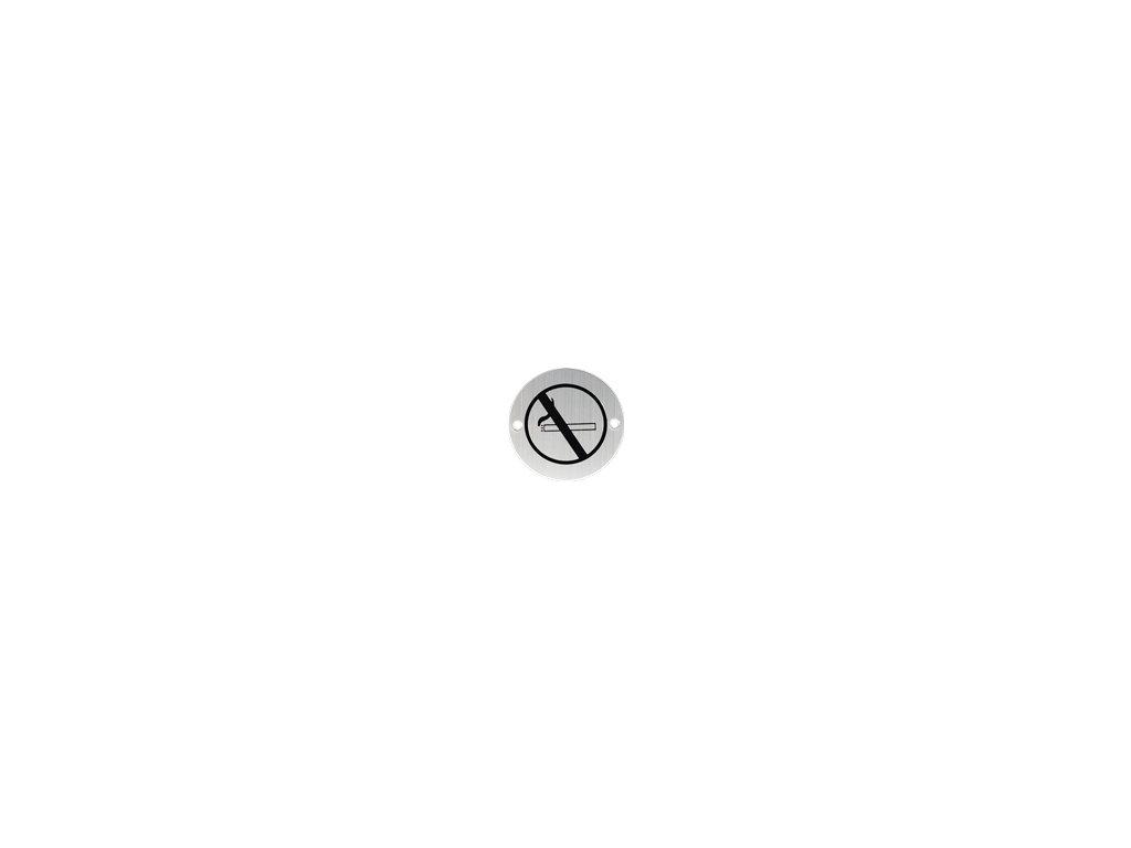 Nerezový PIKTOGRAM zákaz kouření 8110