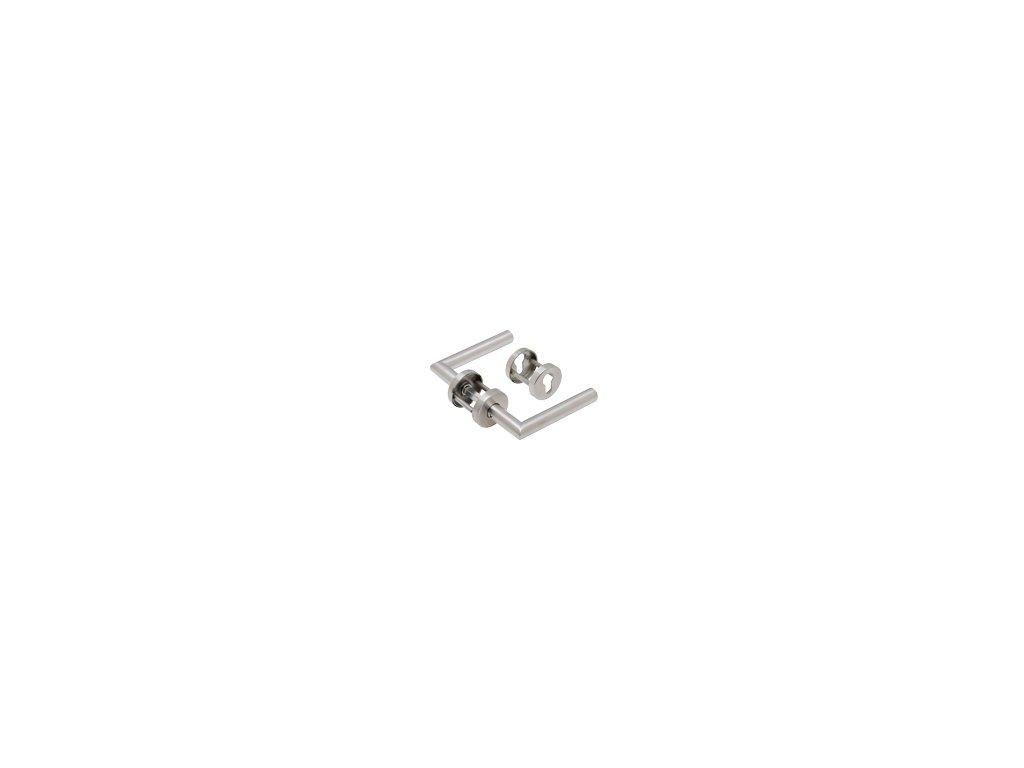 Protipožární kování rozetové nerez mat 04901 021 Kl+Kl PZ