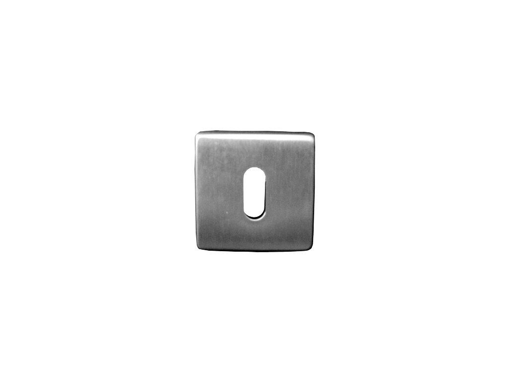 Klíčová rozeta obyčejný klíč nerez mat 8101H