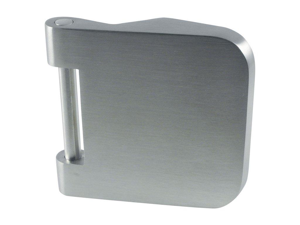 Panty pro skleněné dveře 2510 F9 aluminium