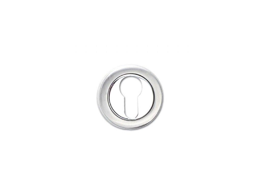 Klíčová rozeta pro vložku 8112.003 nerez mat / chrom lesk
