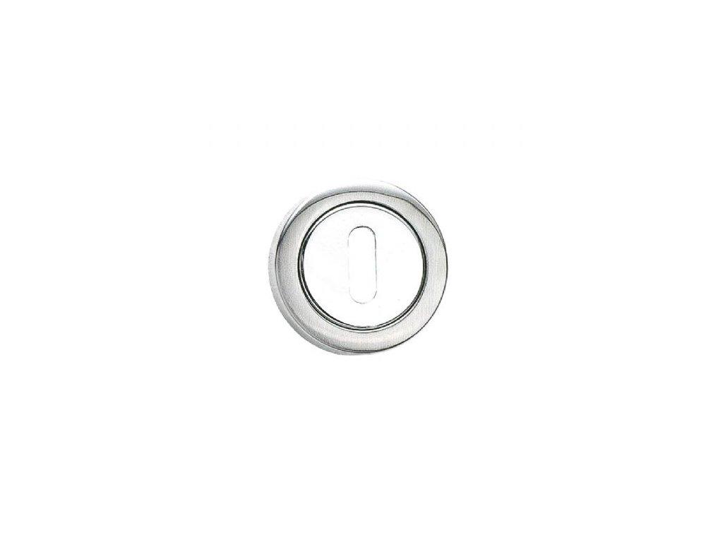Klíčová rozeta obyčejný klíč BB nerez mat chrom lesk 8113