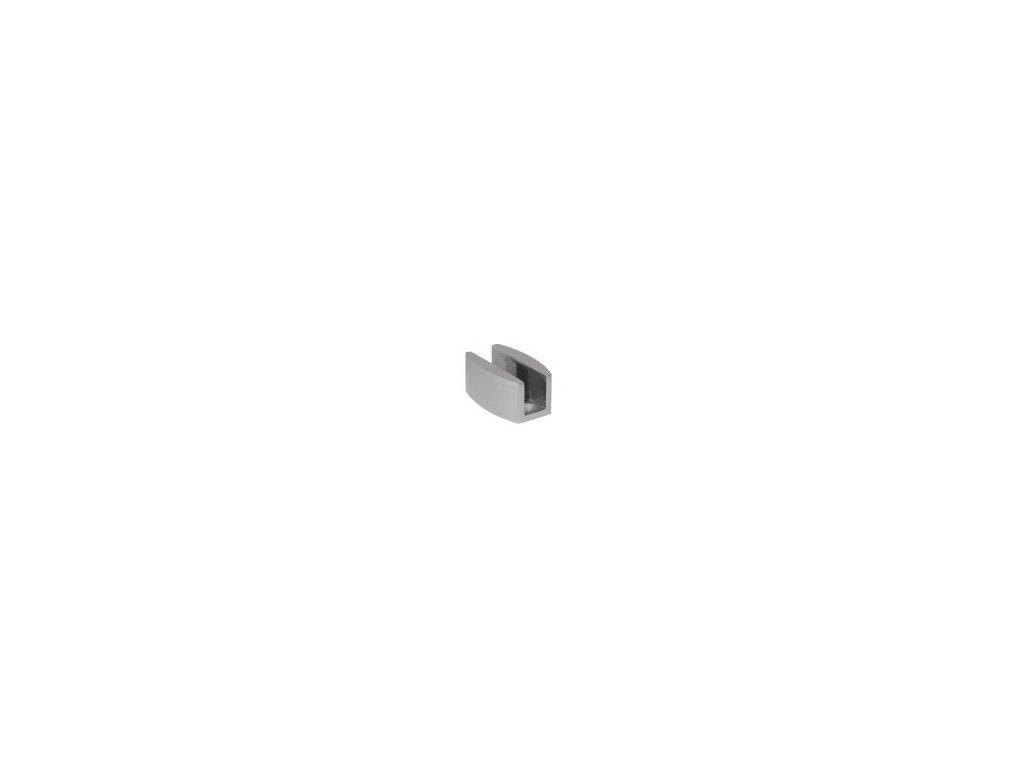 402-5 vodící trn k posuvným skleněným dveřím - nerez mat