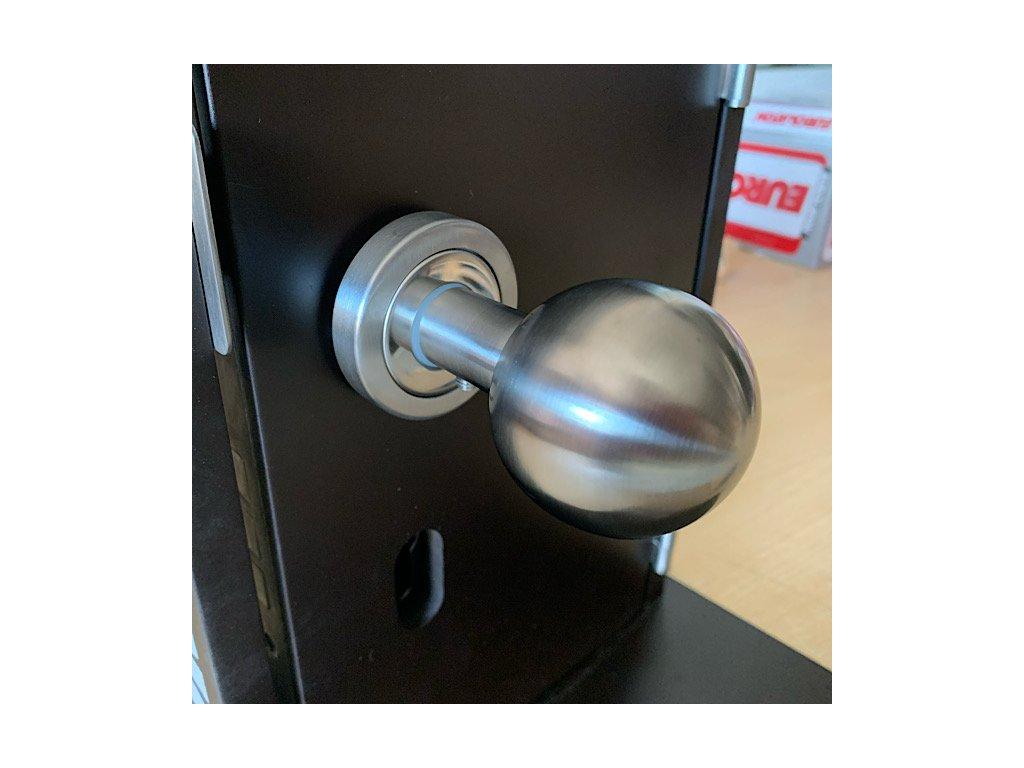 Dveřní koule nerez mat/chrom lesk 8212.003