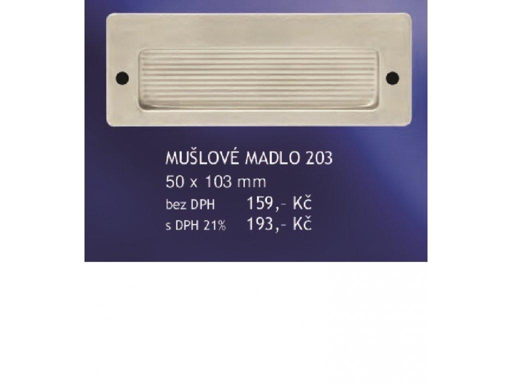 NEREZ MUŠLOVÉ MADLO 203 50x103mm