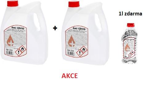 ANTI-COVID DEZINFEKCE - AKCE