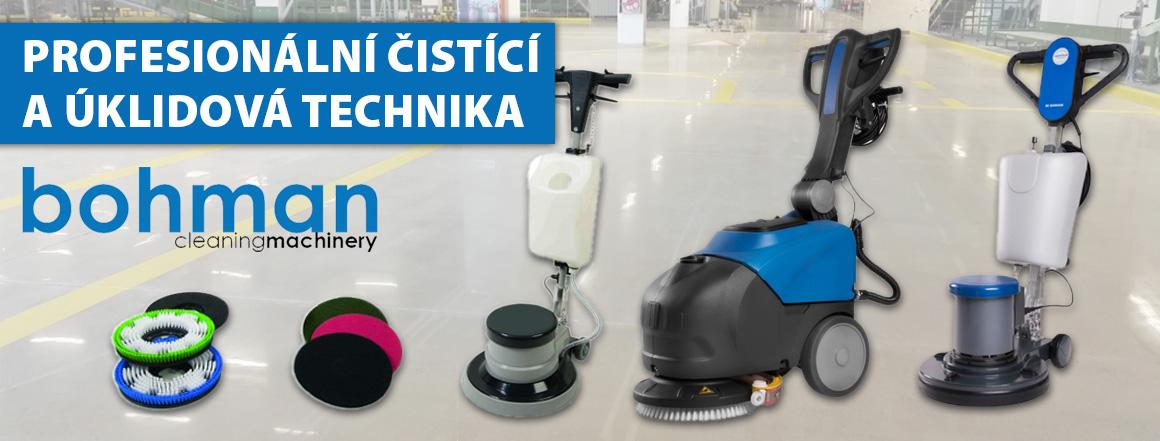Profesionální čisticí technika