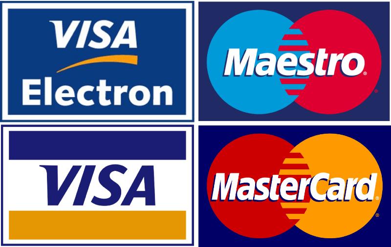 U nás můžete platit kartou, hotovostí nebo na dobírku.