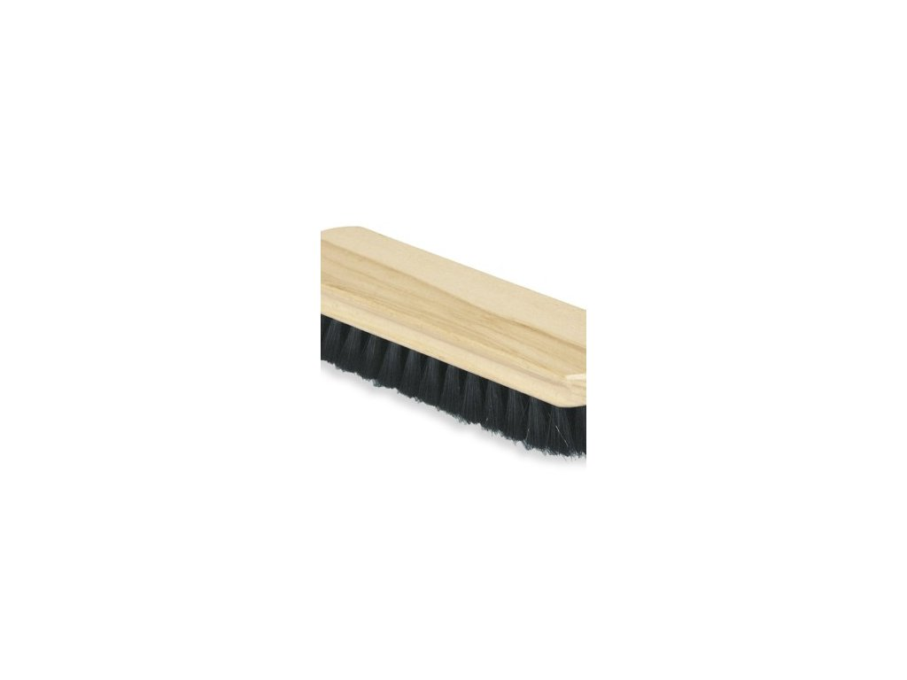 Kartáč na boty 9x3 cm dřevo, plast