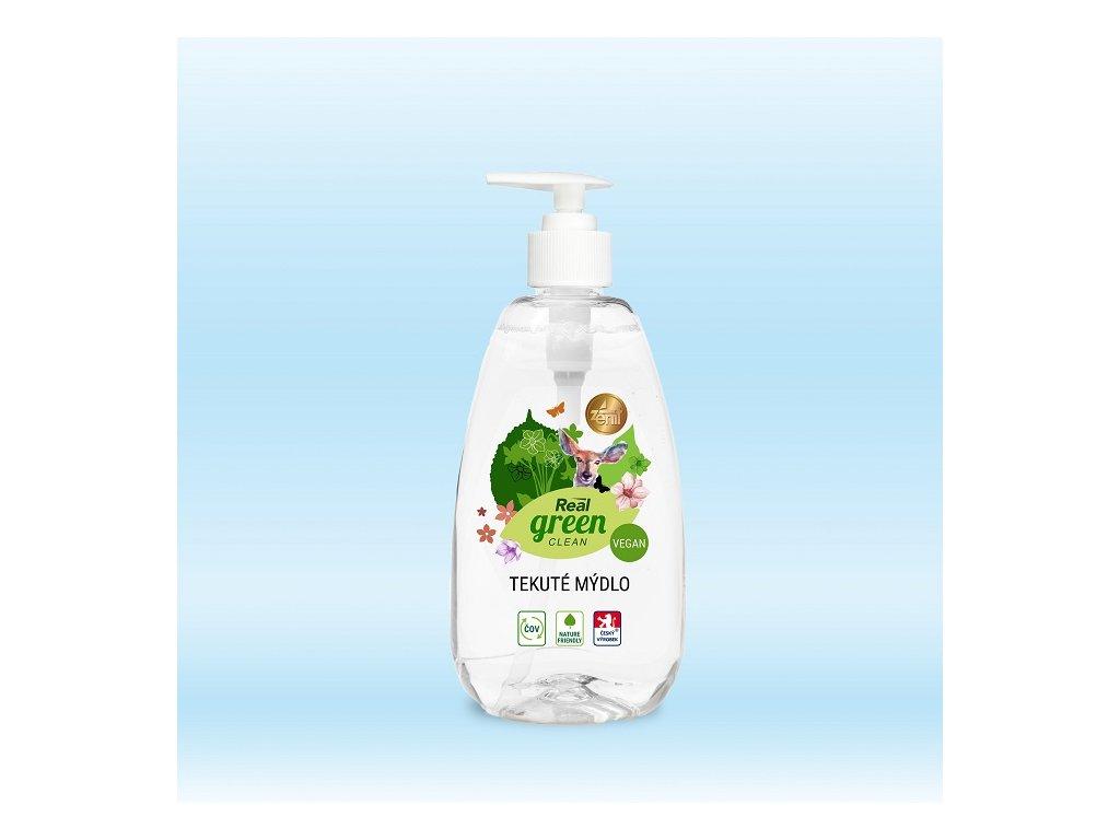 Real green clean tekute mydlo 500g