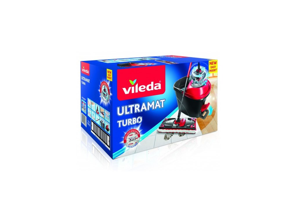 Vileda Easy Wring Ultramat Turbo Mop Set