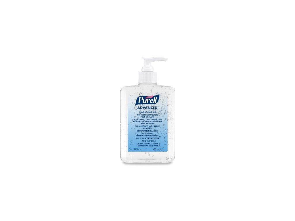 PURELL GEL 500 ml s dávkovací pumpou - dezinfekční gel na ruce