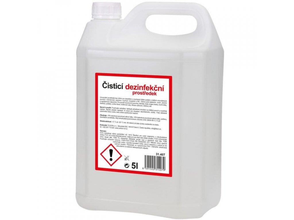 cistici a dezinfekcni prostredek na podlahu a plochy 5l