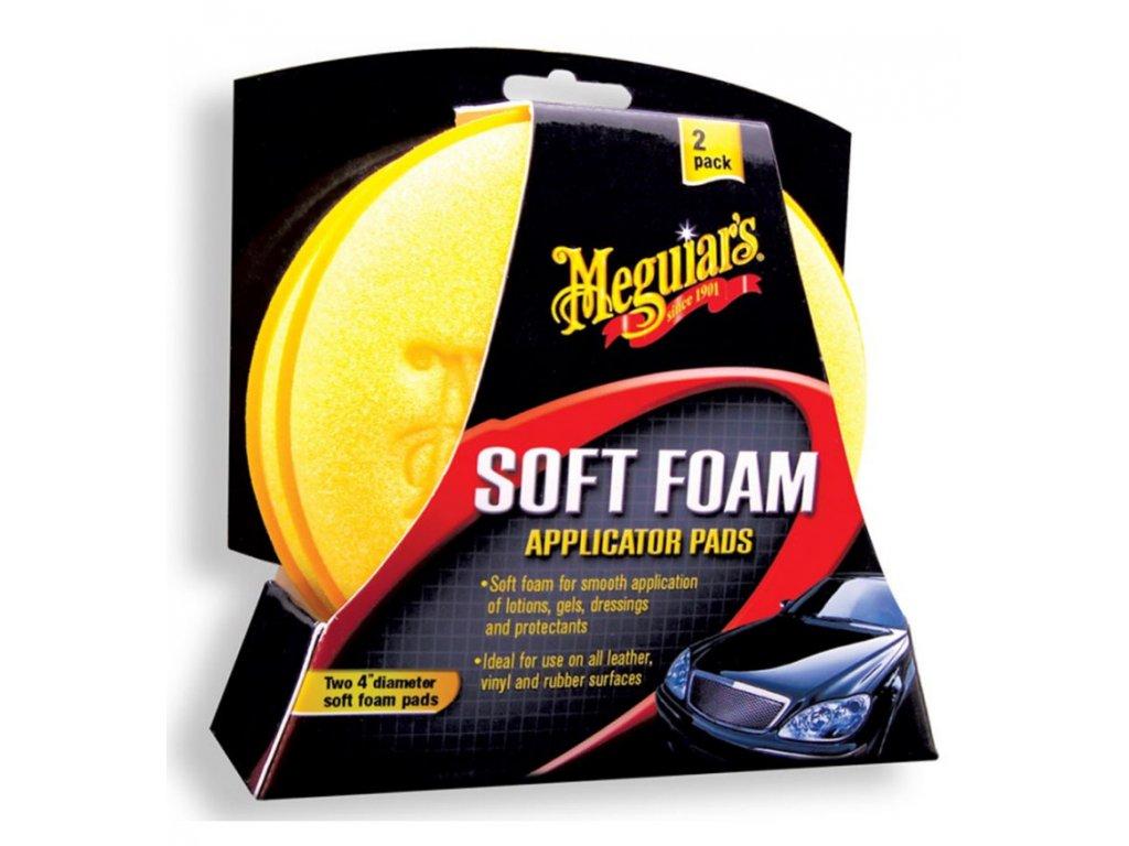 meguiars soft foam applicator pad penove aplikatory 2ks