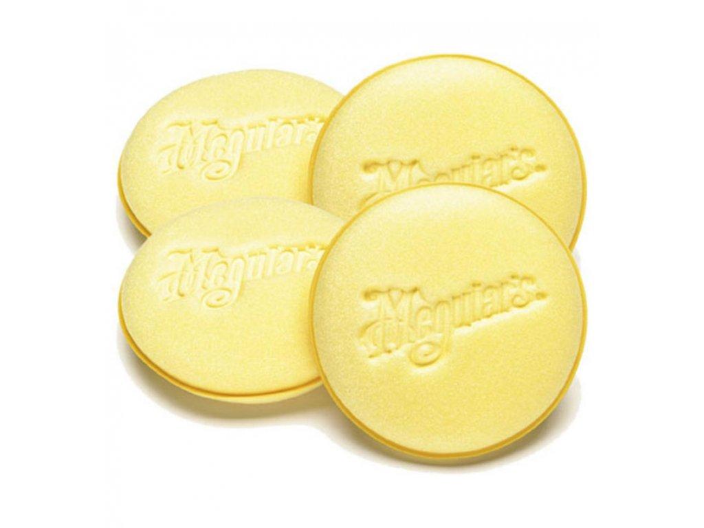 meguiars soft foam applicator pads penove aplikatory 4ks