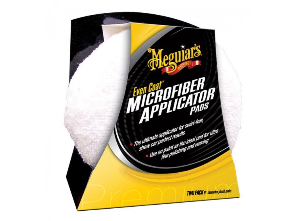 meguiars even coat microfiber applicator mikrovlaknove aplikatory 2ks