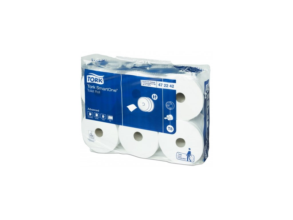 297493 toaletni papir smartone 2vrstvy bily 1 150 utrzku 6roli kt