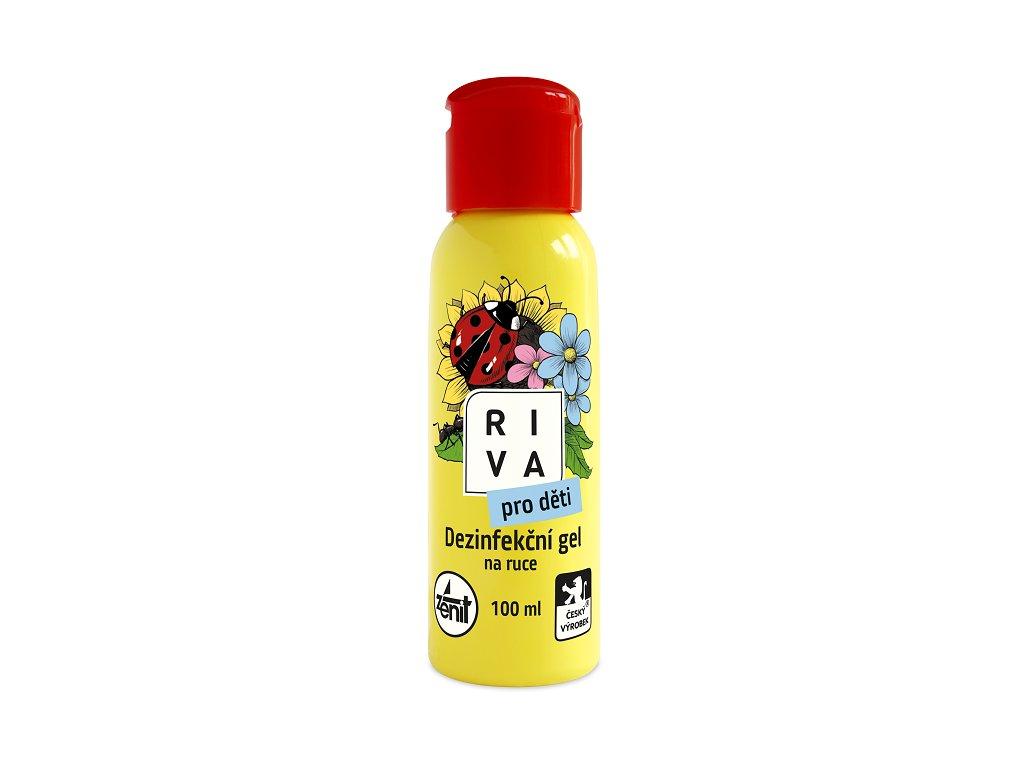 Riva dezinfekcni gel na ruce pro deti 100ml