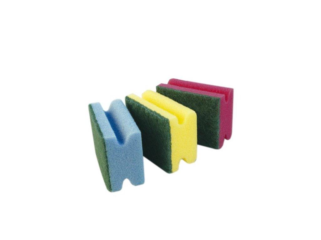 Houbička tvarovaná sada 3 ks 60,5x9x4 cm polyuretan